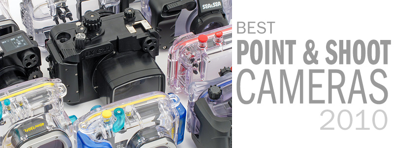 Best Underwater Point & Shoot Cameras for 2010