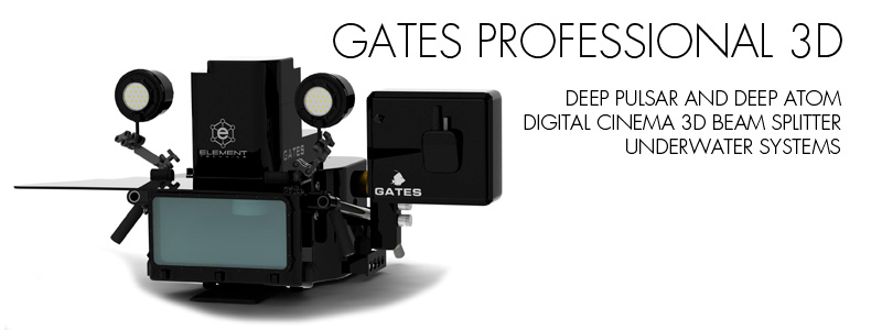 Gates Introduces DEEP PULSAR/DEEP ATOM 3D Beam Splitter Underwater Housing