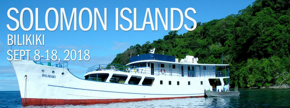 Solomon Islands – Bilikiki Sept 8-18, 2018