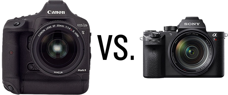 Canon 1DX II vs Sony a7R II Camera for Underwater