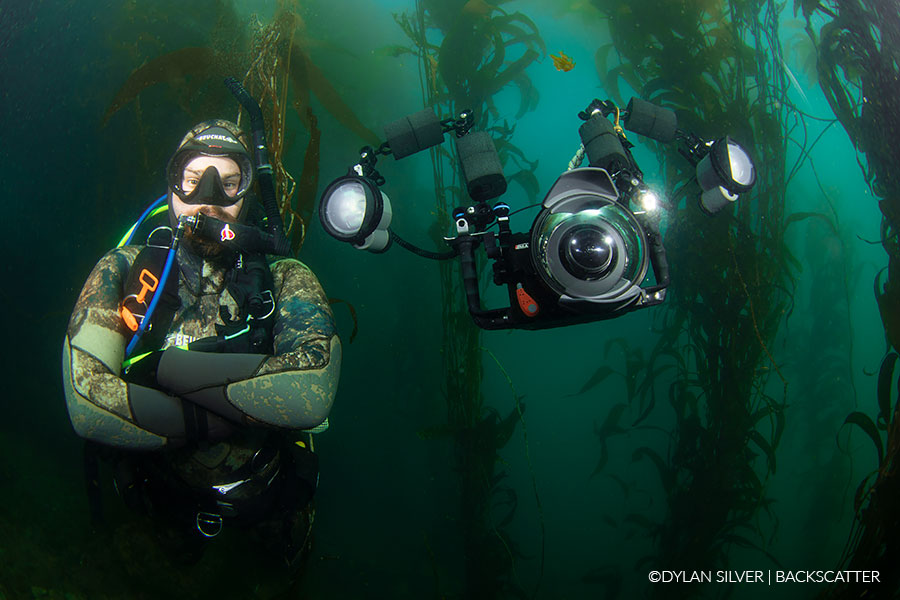 image of diver with perfect neutral rig