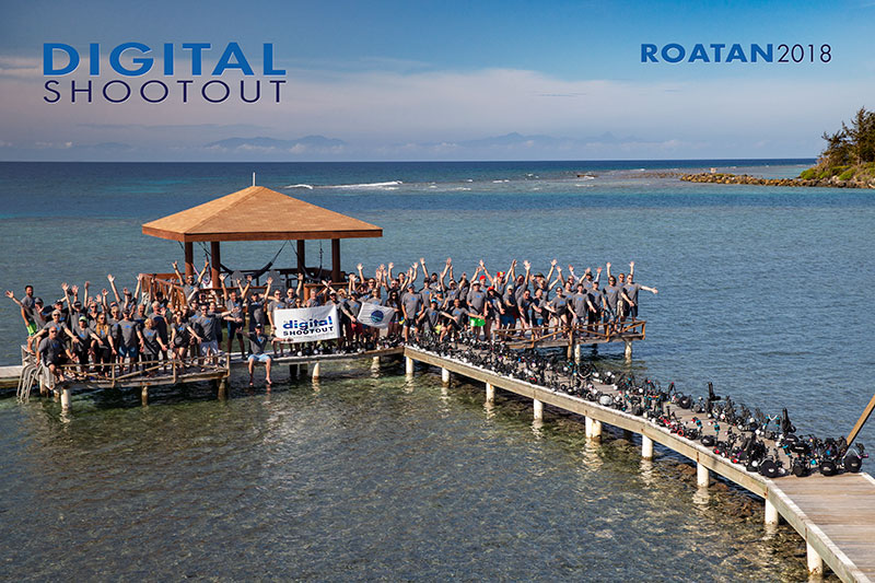 ©Digital Shootout 2018 Roatan Group Shot