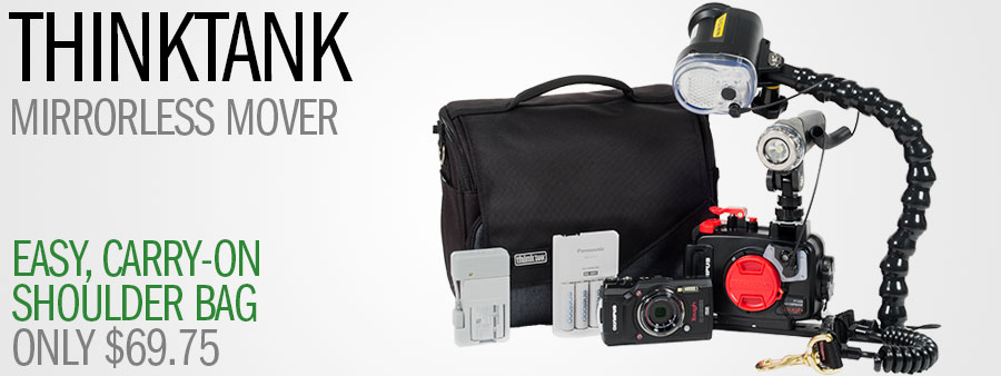 ThinkTank Mirrorless Mover Holiday Sale