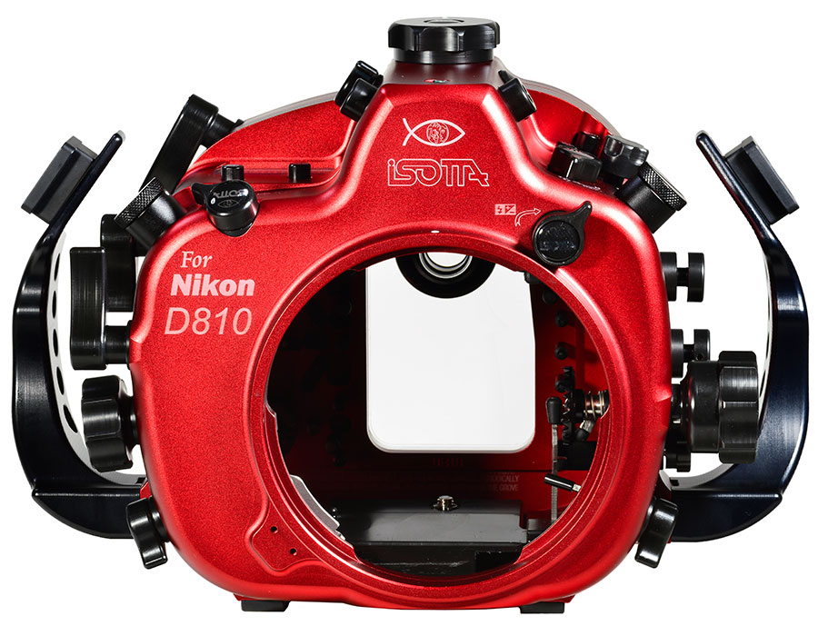 Isotta Underwater Camera Housingfor Nikon D810 with Backscatter