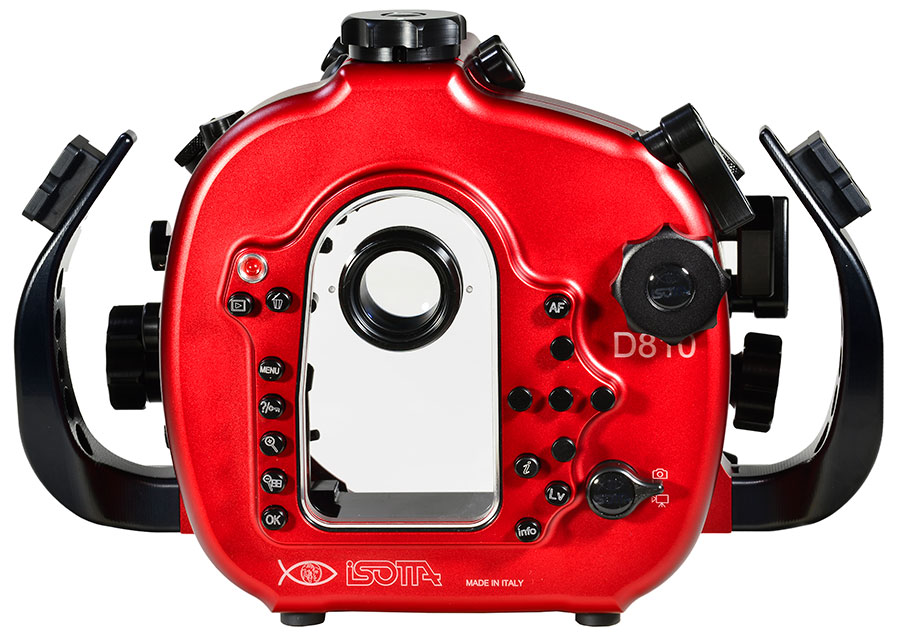 Isotta Underwater Camera Housing Simplicity with Backscatter