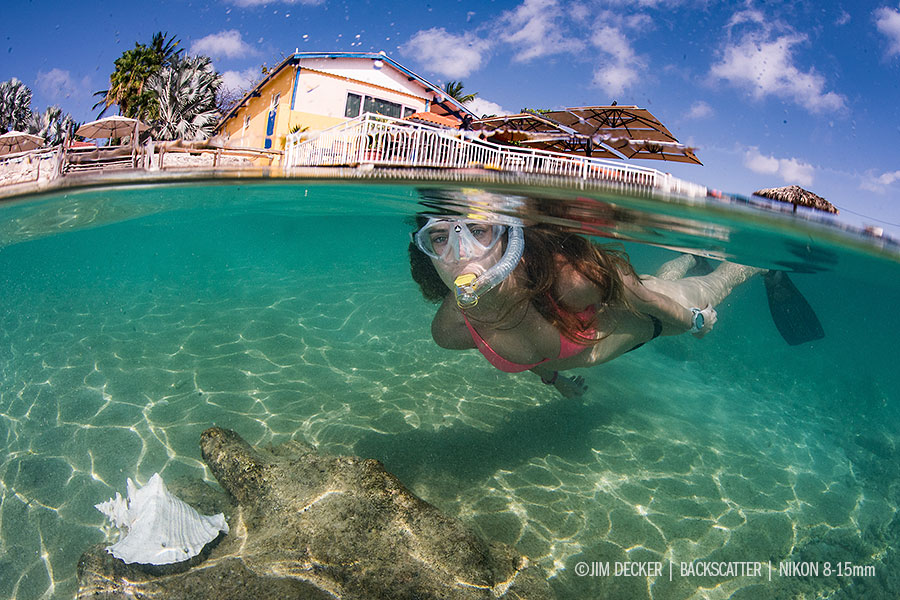 © Jim Decker - Nikon 8-15mm Circular Fisheye Lens Underwater Photography Review