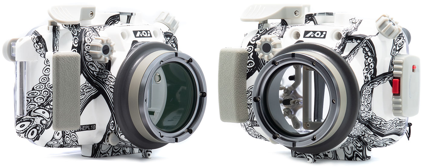 Olympus PEN E-PL10 Underwater Camera & Backscatter Limited Edition AOI Housing Review