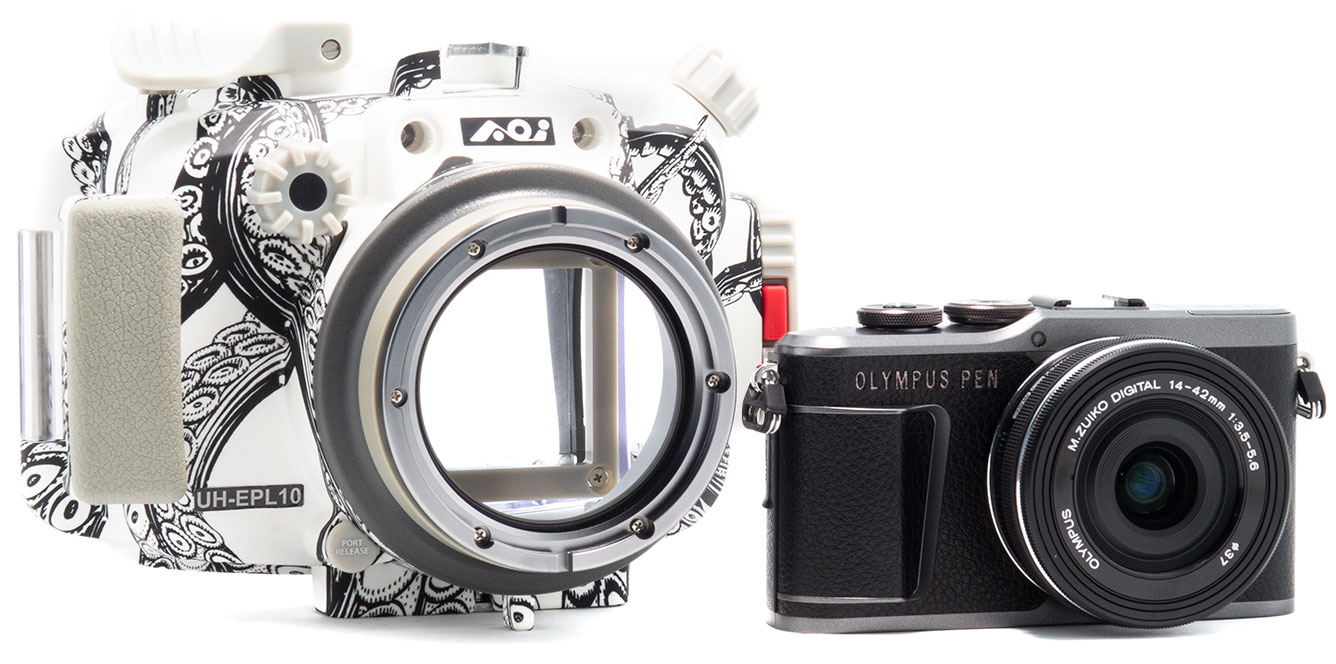 [product image: camera & housing with emphasis on tentacles]