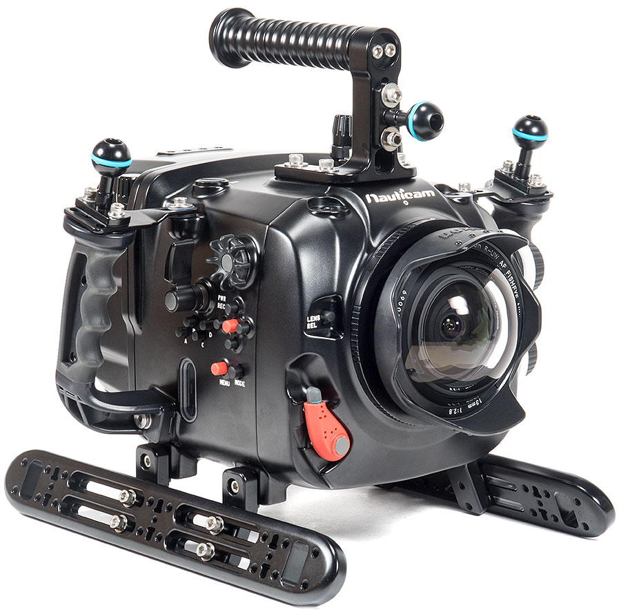 Backscatter Red Weapon 8K Underwater Camera & Nauticam Housing Review - Red Weapon with Nikonos RS 13mm Fisheye Lens