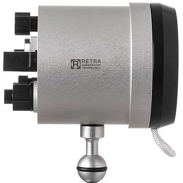 RETRA FLASH—A NEW UNDERWATER STROBE IN TOWN - Retra Reduction Ring Front