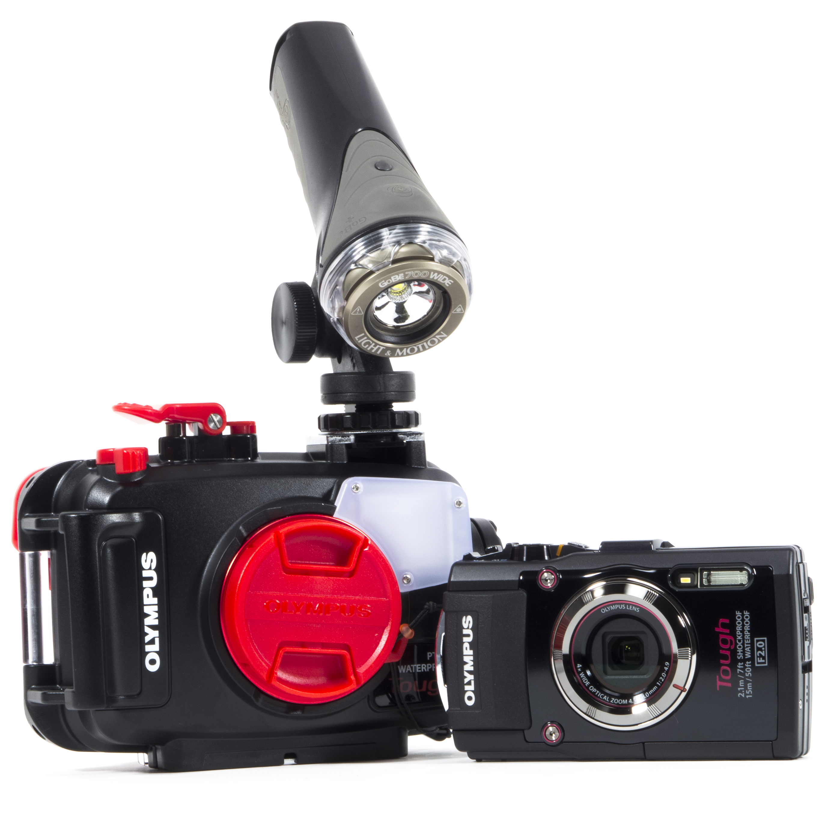 Olympus Tough TG-3 Camera - Using a Video Light Instead of Strobe to shoot Macro