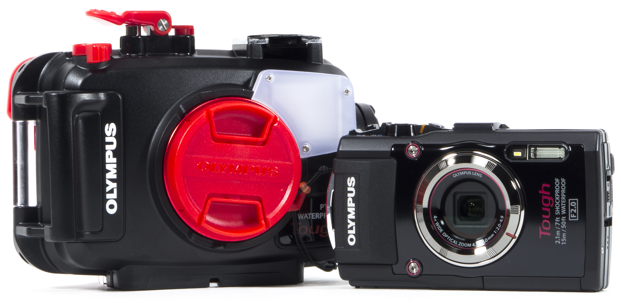 The Olympus TG-4 Tough and PT-056 Underwater Housing