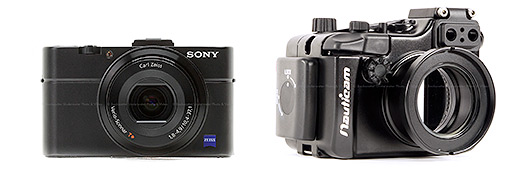 Sony RX100 ii and Nauticam Housing