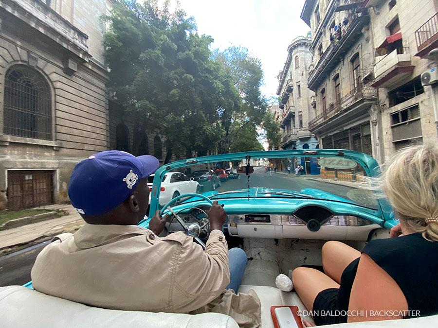 ©Dan Baldacchi - Garden Of The Queens, Cuba - Cab Time