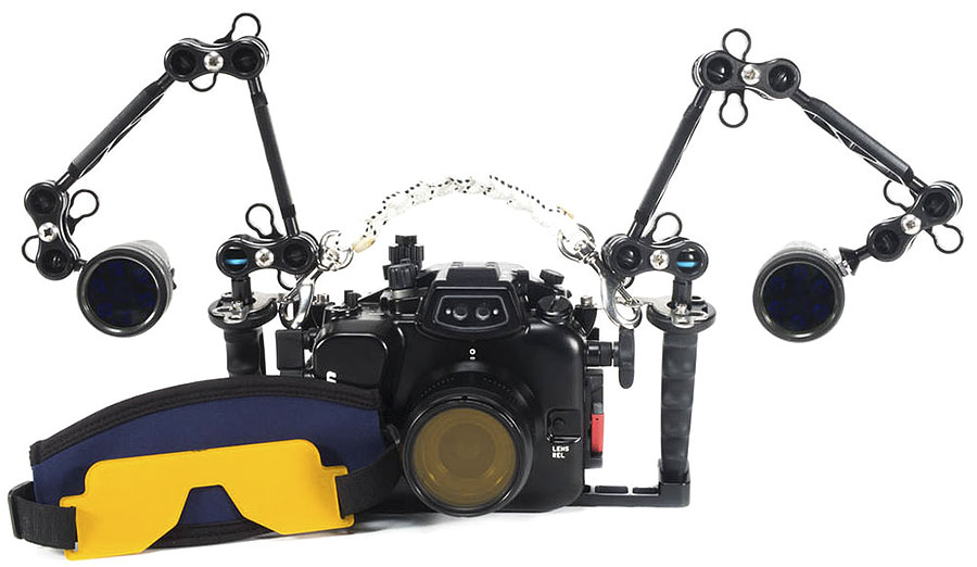 Backscatter Underwater Fluorescence System for Video