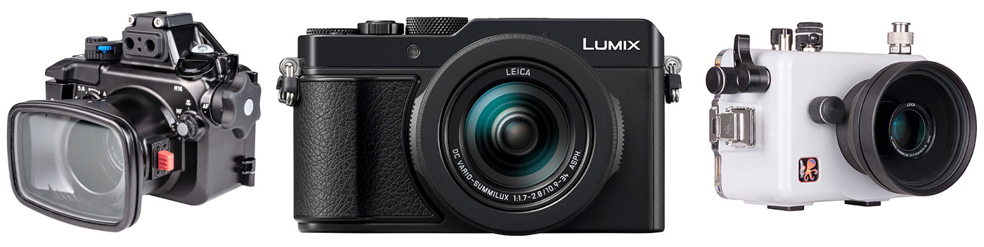 Panasonic LX100 II Underwater Camera Review Camera & Housing Lineup