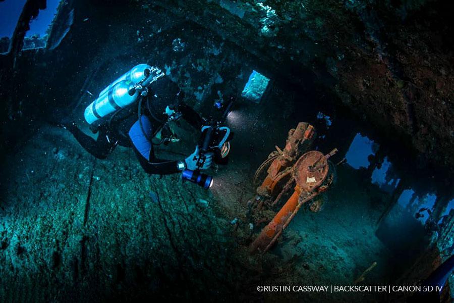 ©Rustin Cassway - Truk Lagoon - Backscatter Trip
