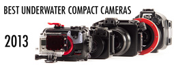 Best Underwater Compact Cameras for 2013