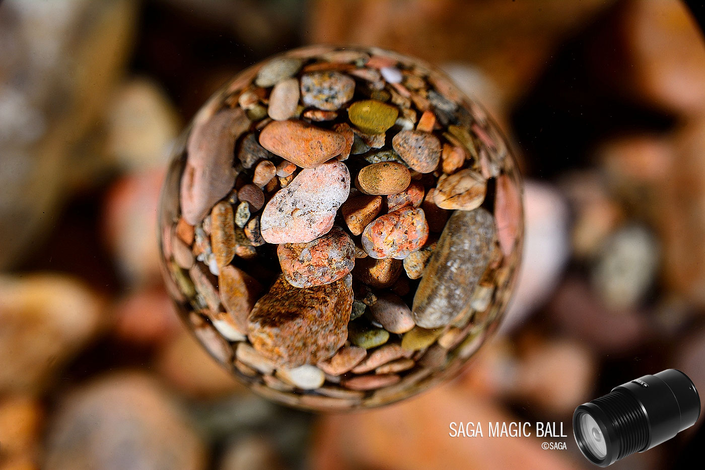 Saga Magic Ball—Underwater Macro Fisheye Lens