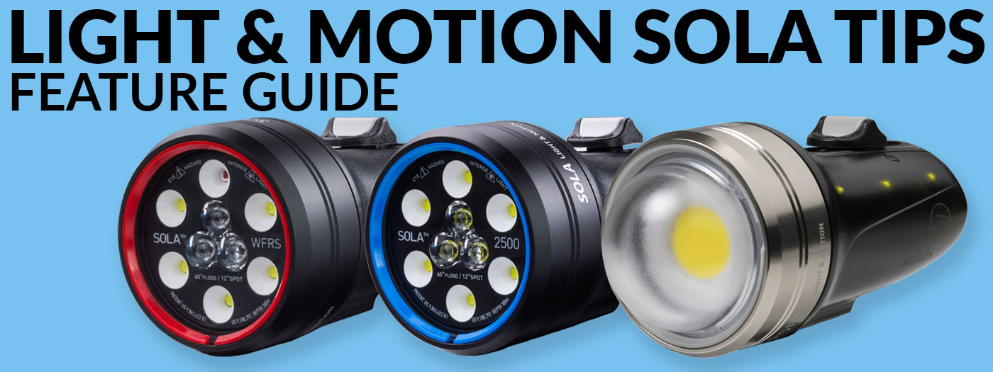 Sola Lights - Tips and Troubleshooting