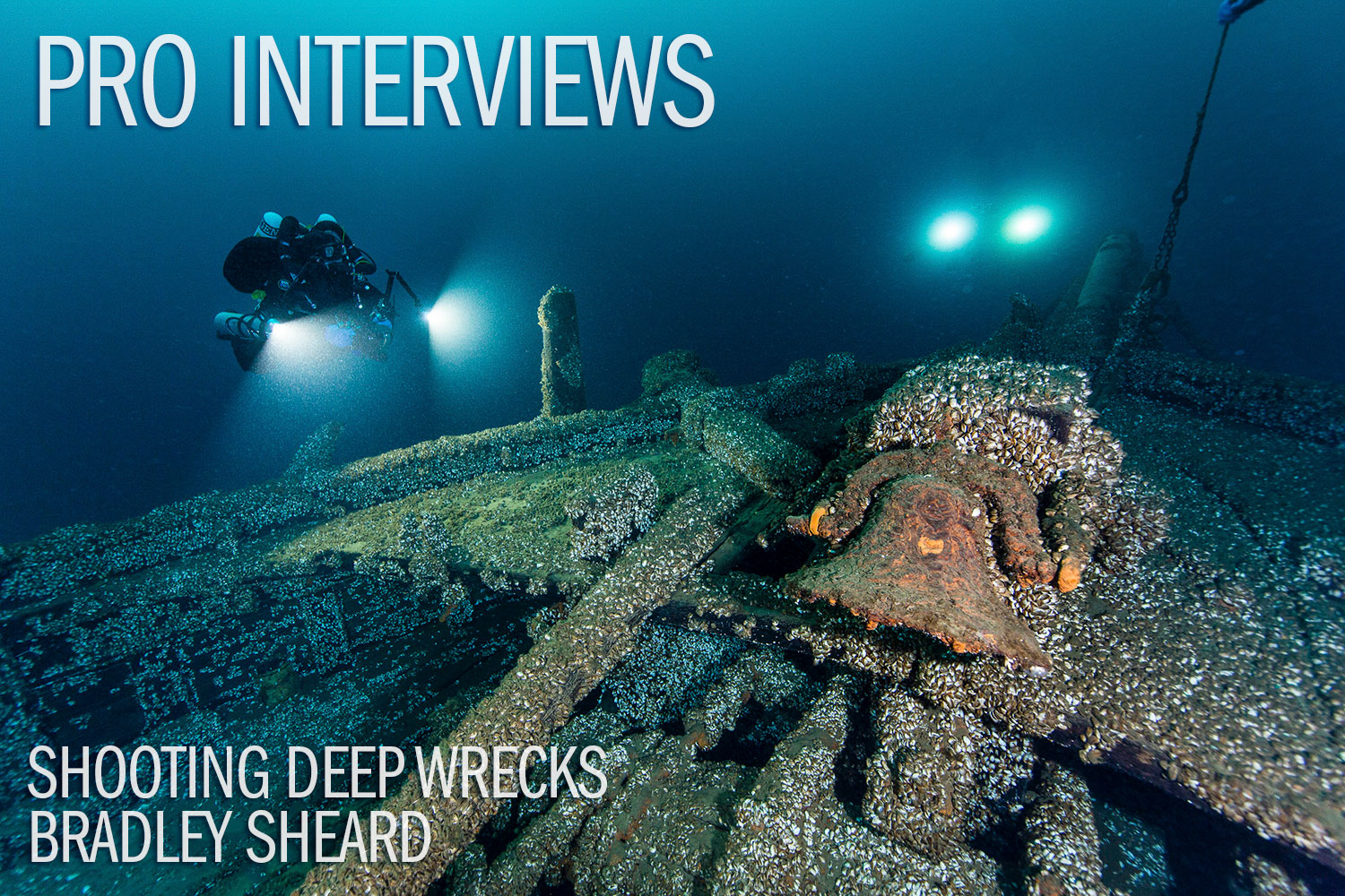 Shooting The Deep Wrecks of Presque Isle with Bradley Sheard