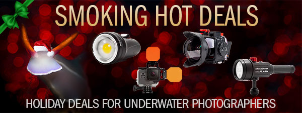 8 SMOKING HOT HOLIDAY DEALS FOR UNDERWATER PHOTOGRAPHERS