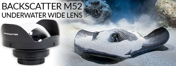 Backscatter M52 Underwater Wide Angle Wet Lens