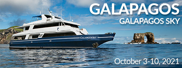 Galapagos Islands - Galapagos Sky - October 3-10, 2021