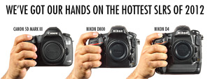 Hands on with the Canon 5D Mark III, the Nikon D800, and the Nikon D4