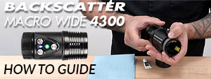 Backscatter Macro Wide 4300 – How To Guide