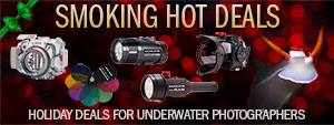 SMOKING HOT HOLIDAY DEALS FOR UNDERWATER PHOTOGRAPHERS