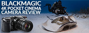 Blackmagic Design Pocket Cinema 4K - Underwater Camera Review
