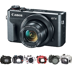 Canon G7 X II Housings