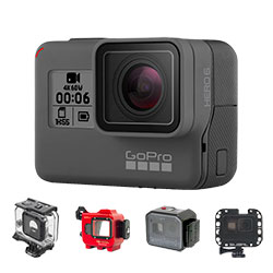 GoPro HERO 5 & HERO 6 Black Housings