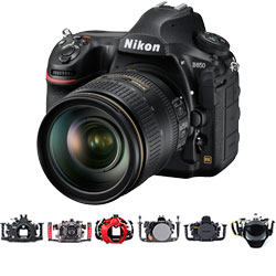Nikon D850 Housings