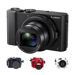 Panasonic LX10 Housings