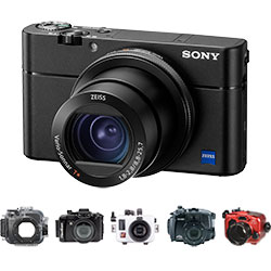 Sony RX100 V Housings