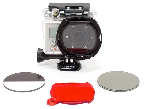 Backscatter Custom GoPro Flat Port Underwater Housing