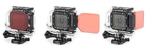 GoPro3 Backscatter underwater filter set