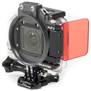 Backscatter  Flip3 Underwater Color Correction Filter for GoPro Hero 3 - Top Filter