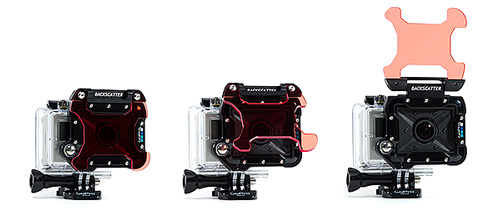 Backscatter Flip2 Filter for GoPro Dive Housing