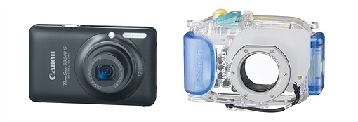 Best underwater point & shoot cameras - Canon SD940