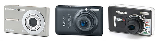 Best automatic underwater point & shoot cameras - Low Cost