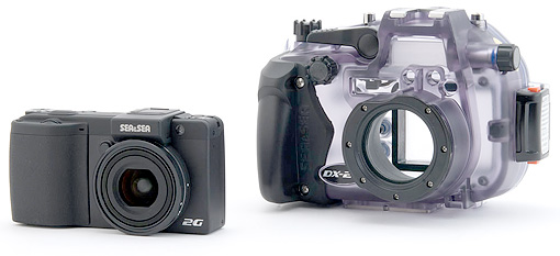 Best underwater point & shoot cameras - Sea & Sea DX2G