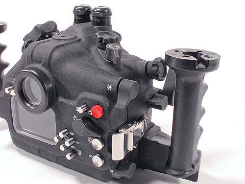 Aquatica underwater housing for Canon T21 - control detail