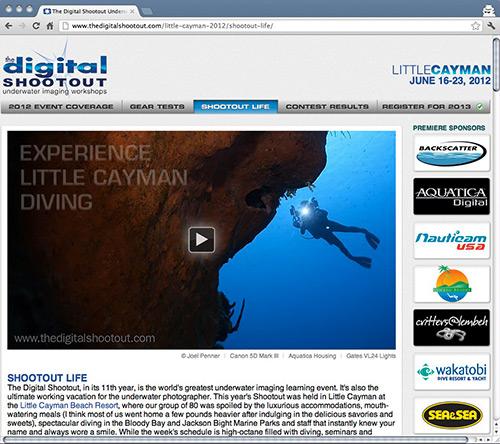 Digital Shootout Website