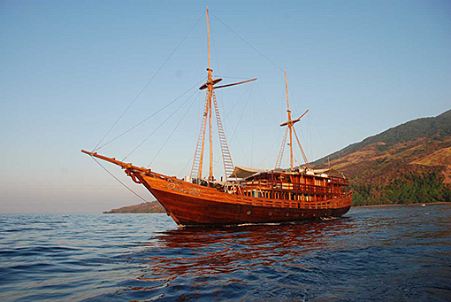 Dive Damai II is the perfect boat to explore Komodo and Alor