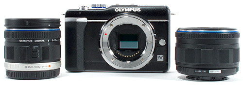Olympus PEN Underwater Housing Review - PEN Camera with Lenses