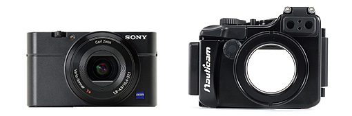 Sony RX100 and Nauticam NA-RX100 Housing