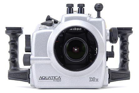 Nikon D3 Underwater - Aquatica Housing Front